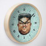 Kim Jong Un Clock
